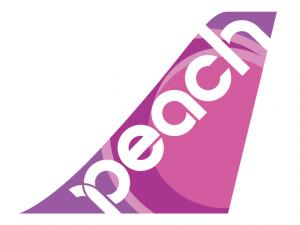 ピーチ航空のロゴ