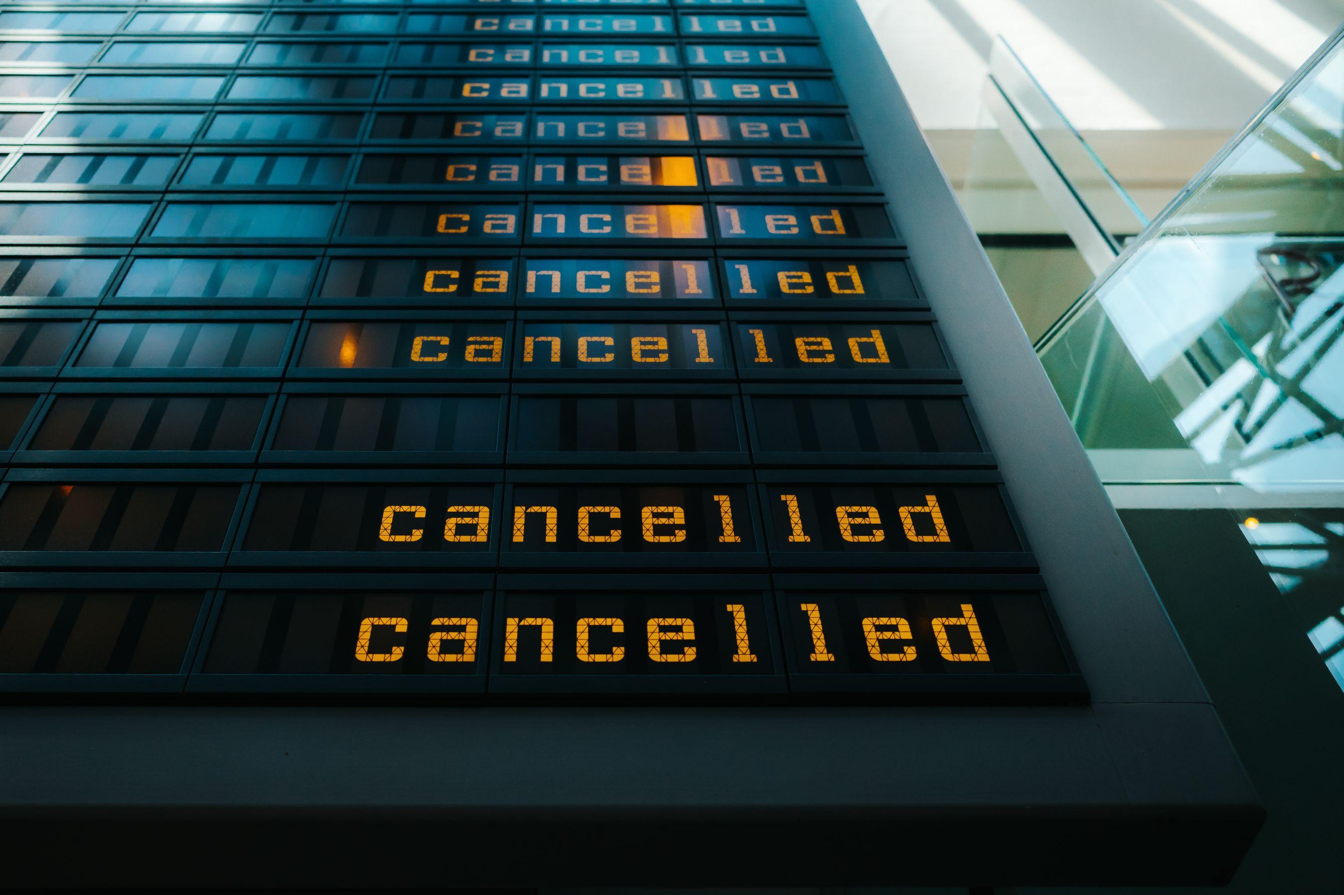 ジェットスター便が欠航するのはどんな時?